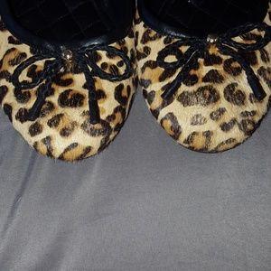 Cole Haan Shoes - Leopard print wedge shoes